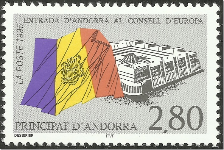 Andorra, French - 458 - 1995