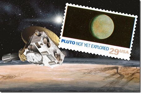 Photo courtesy of NASA and USPS
