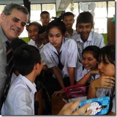 Teacher Mark at Plukpanya Municipal School, Phuket Town - January 2016