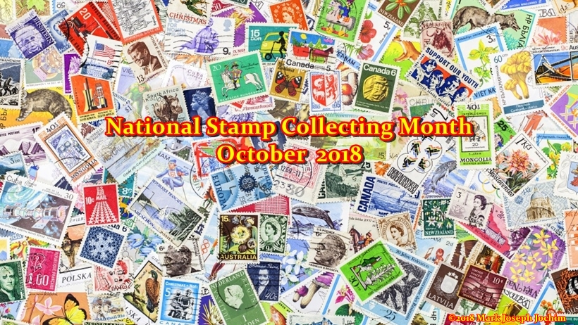 National Stamp Collecting Month 2018