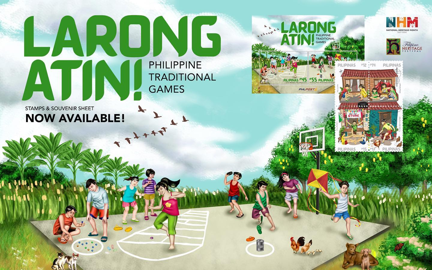 Games philippine traditional PIKO (A